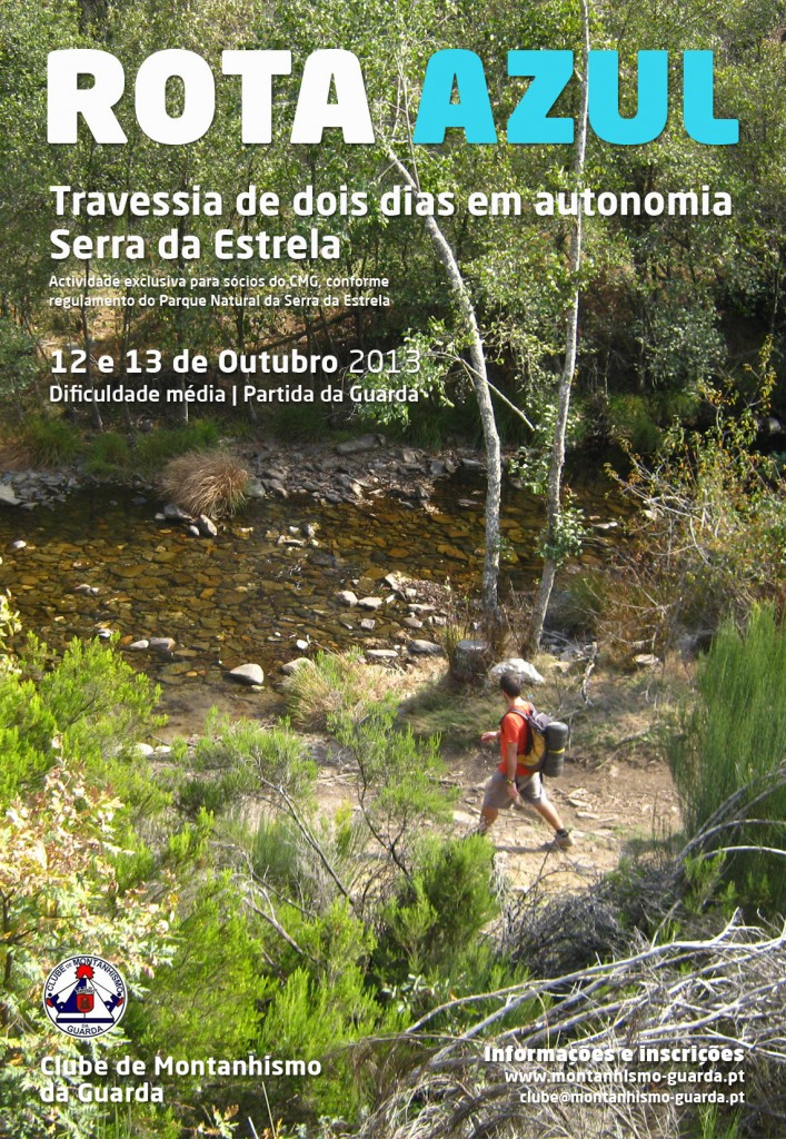 """serra - 2013/10/12 e 13 - Travessia """"Rota Azul"""" - Serra da Estrela Rota-Azul-2013-CMG-707x1024"""